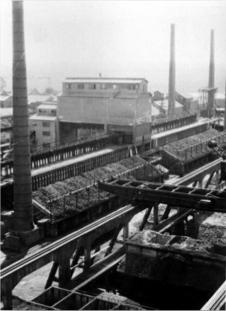 Les Forges en 1930