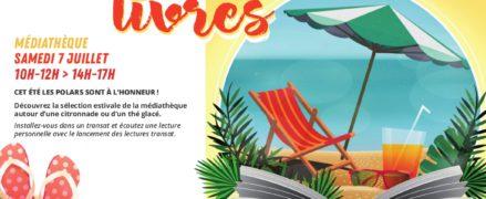 Jardin d'été & lecture transat