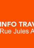 Travaux rue Jules Auffret